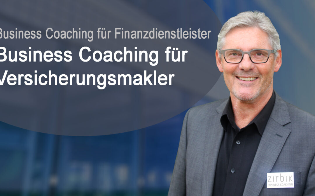 Business Coaching für Versicherungsmakler - Titelbild Video
